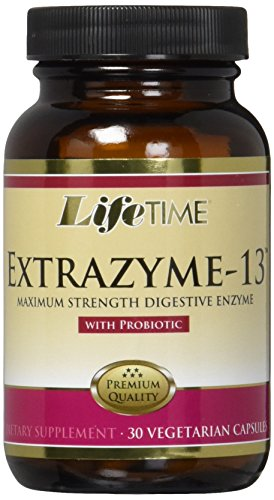 LifeTime Extrazyme-13 Supplement with Probiotic, 30 Count