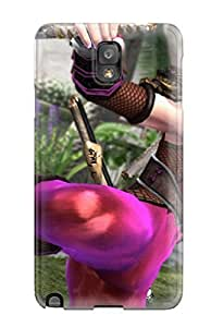 DanRobertse Scratch-free Phone Case For Galaxy Note 3- Retail Packaging - Soul Calibur Fantasy Warrior Game Anime