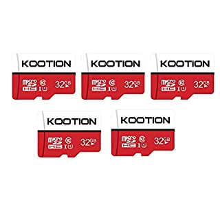 KOOTION 5 X 32GB Micro SD Card Class 10 Micro SDHC Card 32GB TF Card High-Speed Micro SD Cards 5 Pack Memory Card UHS-1, C10, U1