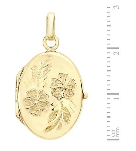 Carissima Gold - Pendentif - Femme - Or jaune (9 carats) 2.6 Gr