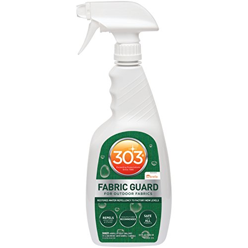 303 (30606) Fabric Guard, Upholstery Protector, Water and Stain Repellent, 32 fl. oz. (Best Fabric Protector Spray)