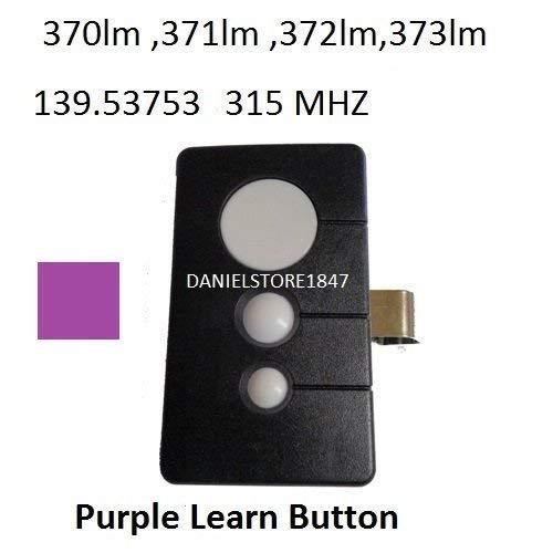 Sears Craftsman 3 Button Garage Door Opener Remote Transmitter TX2028 315mhz