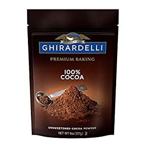 Ghirardelli Cocoa, Unsweetened, 8 oz