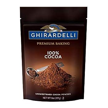 Ghirardelli Unsweetened, 8 oz Cocoa Powder