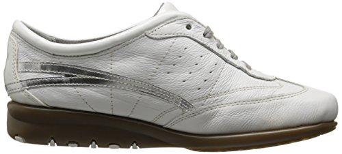Aerosol Da Donna Cuscino Daria Moda Sneaker In Pelle Bianca
