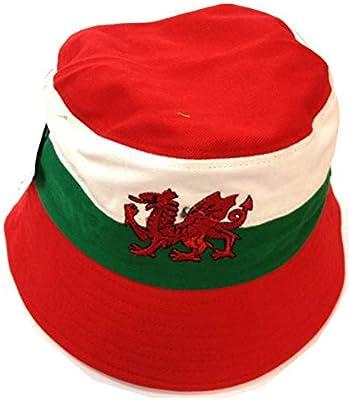 Wales Football Supporters Bucket Hat  Amazon.co.uk  Sports   Outdoors 13397614976e