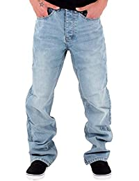 Mens Boys Double R Star Loose Fit Hip Hop Jeans Is Money G Time SWB