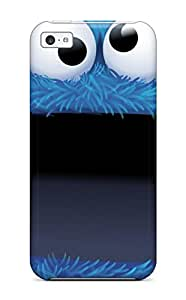 New Arrival Cover Case With Nice Design For Iphone 5c- Cookie Monster