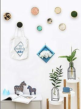 Amazon.com: Juego de 4 ganchos de pared decorativos, de ...