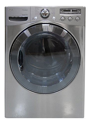LG DLEX3650V 27″ Graphite Steel Front-Load Electric 7.4 cu. ft. Capacity Steam Cycle Dryer