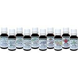 Pure Essential Oils- Emotional Healing Therapeutic Kit of 10