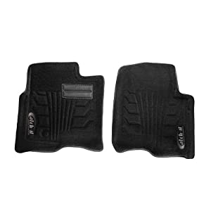 Lund 583052-B Catch-It Carpet Black Front Seat Floor Mat - Set of 2