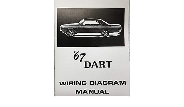 1967 DODGE DART FACTORY ELECTRICAL WIRING DIAGRAMS & SCHEMATICS: DODGE  CHRYSLER: Amazon.com: Books