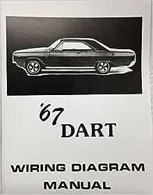 1967 dodge dart factory electrical wiring diagrams & schematics: dodge  chrysler: amazon.com: books  amazon.com
