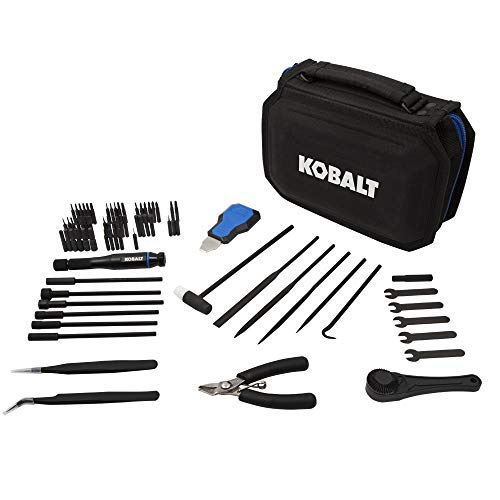 Kobalt 856840 73-Piece Master Hobbyist Tool Set (Car Electronic Tools)
