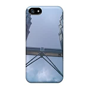 Awesome Design Petronas Towers Hard Cases Covers For Iphone 5/5s