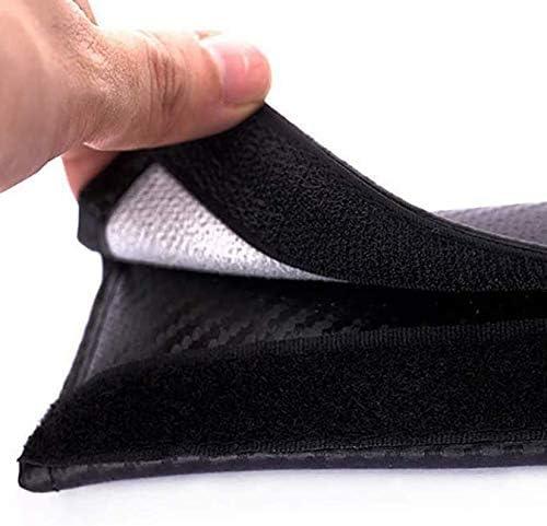 ZYLFP Almohadillas para Cintur/óN De Seguridad para BM W M Color All Models 2 Piezas Fibra De Carbono Interior Fundas Coche Piezas