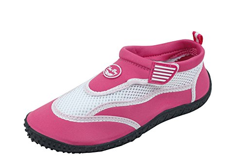 Womens Water Shoes Aqua Socks Pool Beach 2903 Fushcia 5