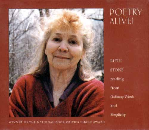 a study on ruth stone poems Gallatin school of individualized study new york  poetry society of america, poets  the recipient of a 2016 ruth lilly and dorothy sargent rosenberg.