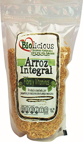 Biolicious Arroz Integral, 450 g