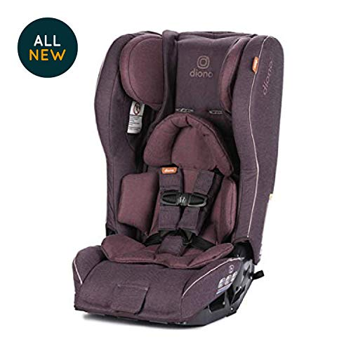Diono Rainier 2 Axt Convertible Car Seat, Plum