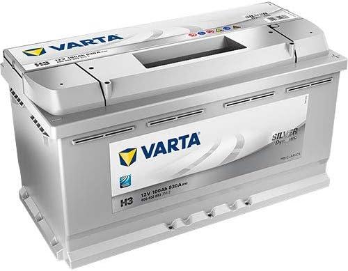 Varta Silver Top H3 - Batería para coche (100 Ah)