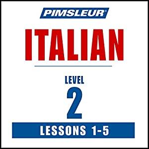 Italian Level 2 Lessons 1-5 | Livre audio