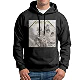 XINSHOUS Metallica -and Justice for All Men's Pullover Hooded Sweatshirt M