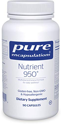 Pure Encapsulations – Nutrient 950 – Hypoallergenic Multi-Vitamin/Mineral Formula for Optimal Health – 90 Capsules