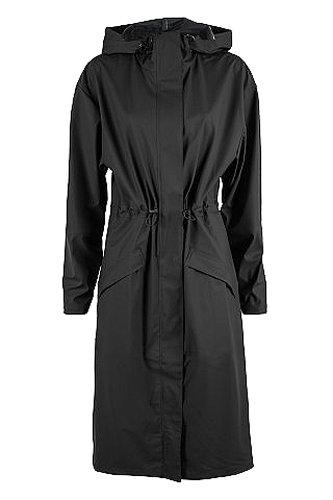 RAINS, Blouson Femme Noir (Black 01)