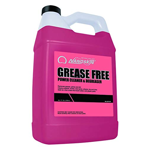 Nanoskin (NA-GSF128) Grease Free Power Cleaner and Degreaser - 1 Gallon ()