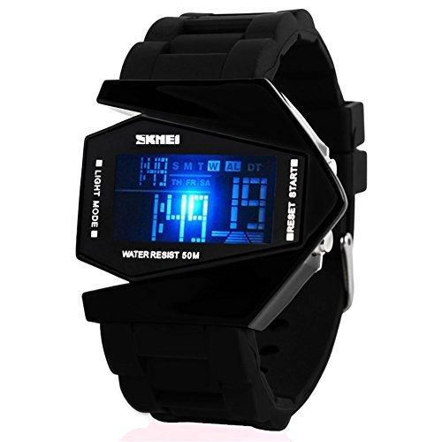 Airplane Watch Design Black - 3