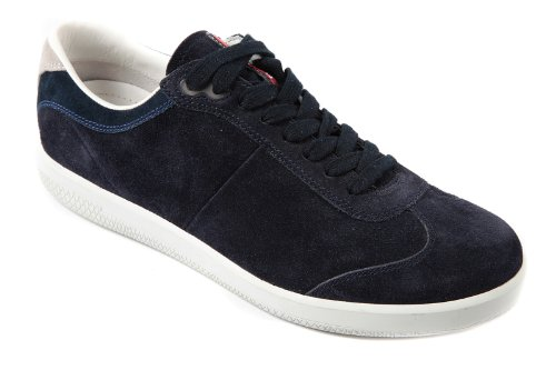 blu Schuhe Sneakers Wildleder Herren Blu Herrenschuhe Prada qX1pS