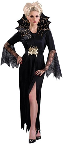 Forum Novelties Women's Spider Lady Costume, Black, Standard
