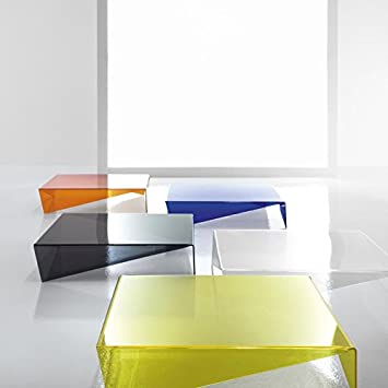 Bonaldo Voila Designer Plexiglas Couchtisch Design Max Piva