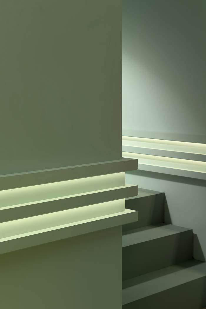 Cornisa Orac Decor C380 MODERN L3 Moldura para luz indirecta Moldura para decoración de pared y techo moderno blanco 2m: Amazon.es: Bricolaje y herramientas