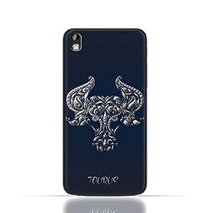 HTC Desire 816 TPU Silicone Case with Zodiac-Sign-taurus Design