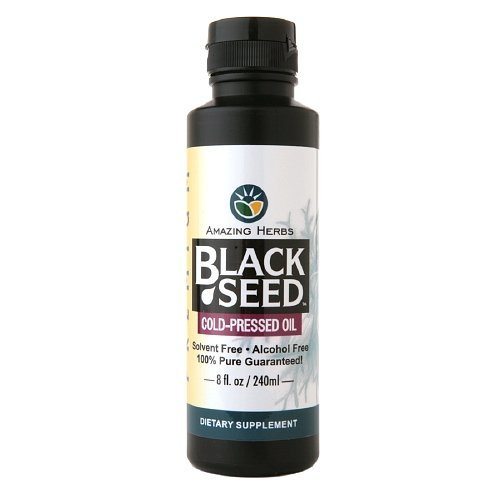 Egyptian Black Seed Oil 8 OZ by Amazing Herbs