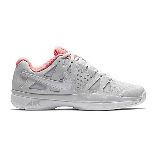 Scarpe Da Tennis Di Vantaggio Del Vapore Daria Delle Donne Del Nike Vasto Incandescenza Di Grey / White / Lava