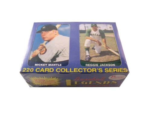 1989 Pacific Baseball Legends Trading Card Factory Set