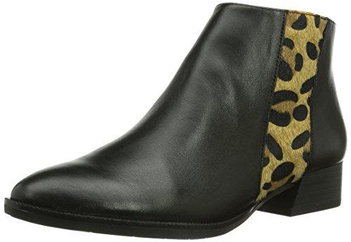 Tamaris 25062 - Botines Mujer Black/Leopard 90