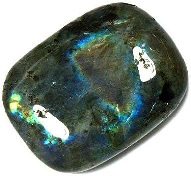 CrystalAge Piedra de labradorita cómoda.