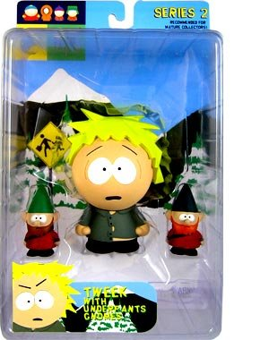 (Tweek Mirage South Park Figure Series 2 with 2 Underpants Gnomes)