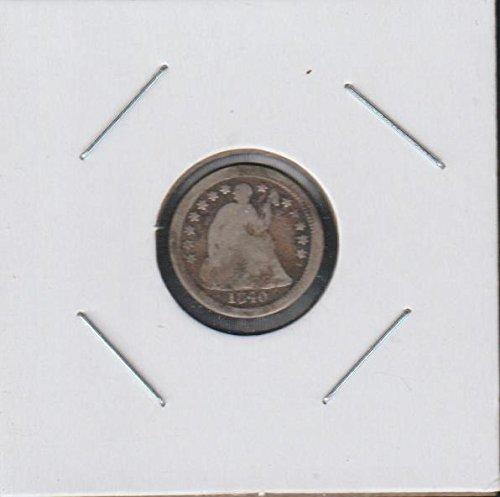 1840 O Liberty Seated (1837-1873) Half Dime Good