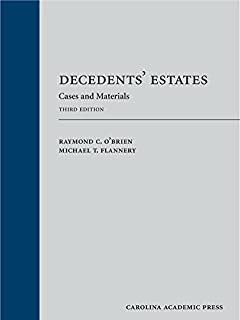 Decedents' Estates: Cases and Materials (1611638658) | Amazon price tracker / tracking, Amazon price history charts, Amazon price watches, Amazon price drop alerts