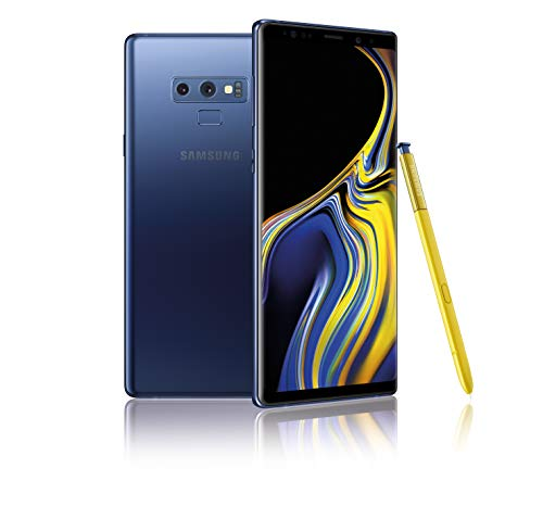 Samsung Galaxy Note9 128GB (Single-SIM) SM-N960F (GSM Only, No CDMA) Factory Unlocked 4G/LTE Smartphone - International Version (Ocean Blue)