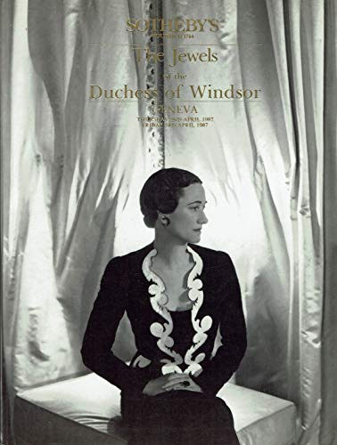 The Jewels of the Duchess of Windsor (The Duke And Duchess Of Windsor Sotheby)