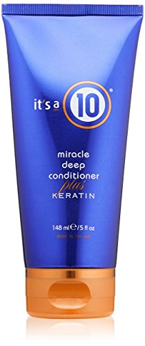- It's a 10 Miracle Deep Conditioner Plus Keratin, 5 oz
