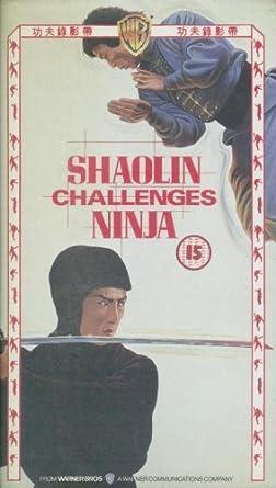 Shaolin Challenges Ninja [VHS]: Amazon.es: Cine y Series TV