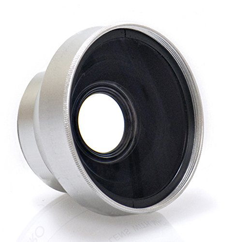 New 0.45x High Grade Wide Angle Conversion Lens (30mm) For Sony Handycam DCR-SR45